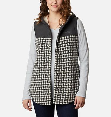 Women's Benton Springs™ Overlay Vest Benton Springs™ Overlay Vest   613   L, Chalk Houndstooth, front
