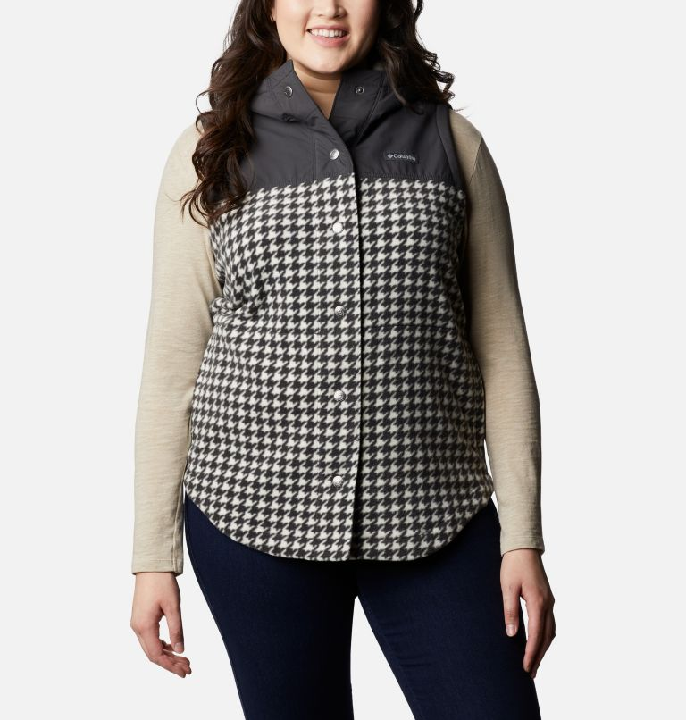Women's Benton Springs™ Overlay Vest - Plus Size Women's Benton Springs™ Overlay Vest - Plus Size, front