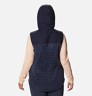 Women's Benton Springs™ Overlay Vest - Plus Size Benton Springs™ Overlay Vest | 473 | 1X, Dark Nocturnal Houndstooth, back