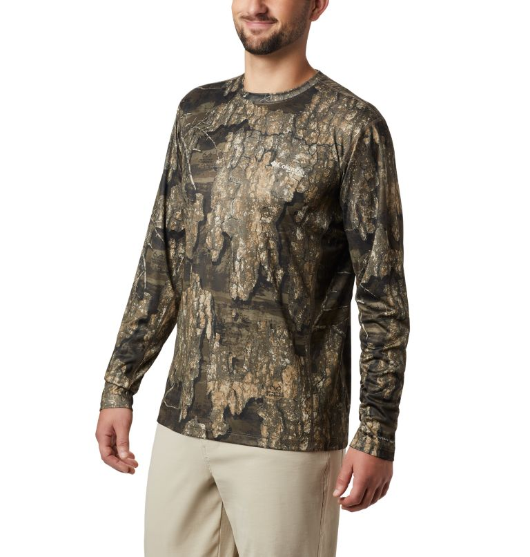 Men's PHG Trophy Rack™ Long Sleeve Knit Shirt Men's PHG Trophy Rack™ Long Sleeve Knit Shirt, front