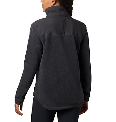 Benton Springs™ Overlay Fleece Benton Springs™ Overlay Fleece | 473 | L, Charcoal Heather, Shark, back