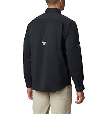 Men's PHG Bucktail™ Long Sleeve Woven Shirt Bucktail™ LS Woven | 466 | M, Black, RT Edge, back