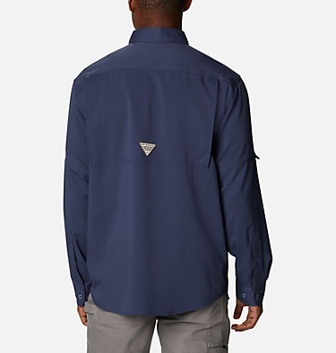Men's PHG Bucktail™ Long Sleeve Woven Shirt Bucktail™ LS Woven | 466 | M, Nocturnal, RT Edge, back