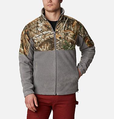 Men's PHG Fleece Overlay Jacket PHG™ Fleece Overlay Jacket | 003 | XXL, Boulder, RT Edge, front