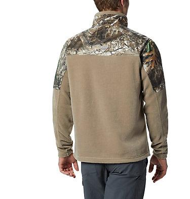 Men's PHG Fleece Overlay Jacket PHG™ Fleece Overlay Jacket | 003 | XXL, Flax, RT Edge, back