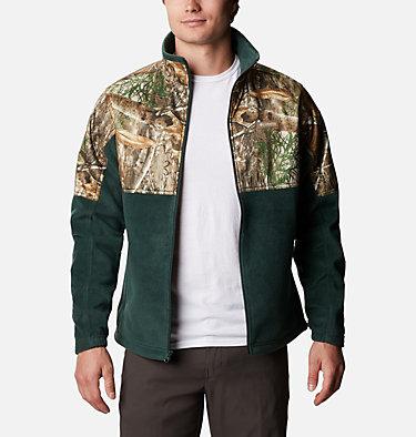 Men's PHG Fleece Overlay Jacket PHG™ Fleece Overlay Jacket | 003 | XXL, Spruce, RT Edge, front