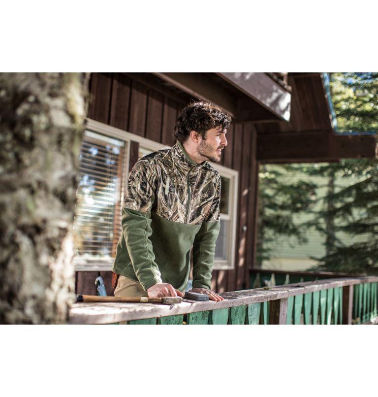 Men's PHG™ Fleece Overlay 1/4 Zip Pullover Men's PHG™ Fleece Overlay 1/4 Zip Pullover, a9