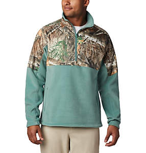Men's PHG™ Fleece Overlay 1/4 Zip Pullover