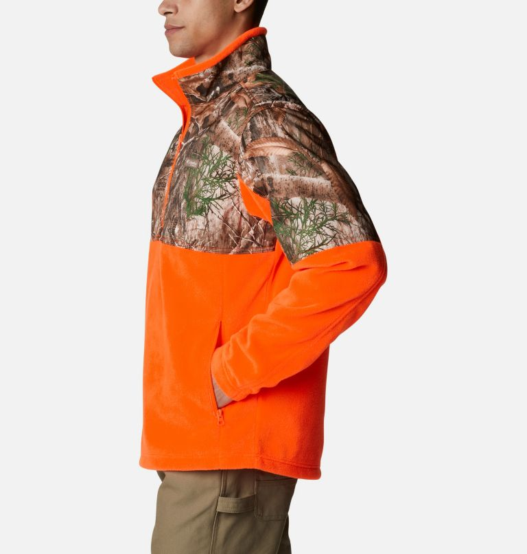 Men's PHG™ Fleece Overlay 1/4 Zip Pullover Men's PHG™ Fleece Overlay 1/4 Zip Pullover, a1