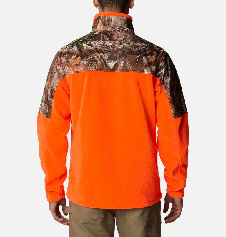 Men's PHG™ Fleece Overlay 1/4 Zip Pullover Men's PHG™ Fleece Overlay 1/4 Zip Pullover, back