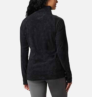 Women's Glacial™ IV 1/2 Zip - Patterned Print  Glacial™ IV Print 1/2 Zip | 016 | XS, Black Dotty Floral, back