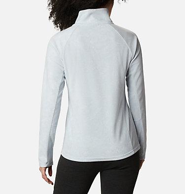 Women's Glacial™ IV Print Half Zip Pullover Glacial™ IV Print 1/2 Zip | 472 | XXL, Cirrus Grey Dotty Floral, back