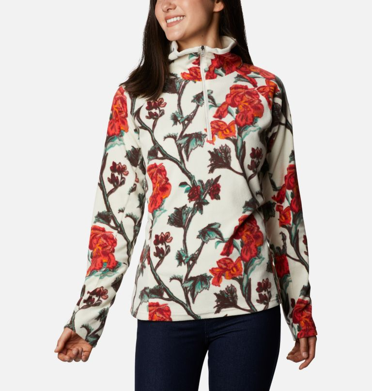 Women's Glacial™ IV 1/2 Zip - Patterned Print  Women's Glacial™ IV 1/2 Zip - Patterned Print , front