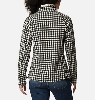 Women's Glacial™ IV Print Half Zip Pullover Glacial™ IV Print 1/2 Zip | 472 | XXL, Chalk Houndstooth, back