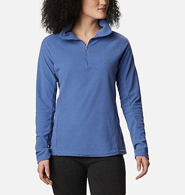 Women's Glacial™ IV Print Half Zip Pullover Glacial™ IV Print 1/2 Zip | 015 | L, Velvet Cove Quilt Pattern, front