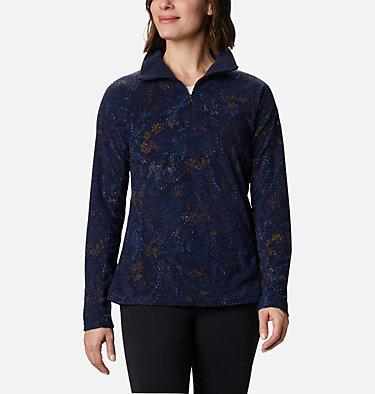 Maglia con cerniera a mezza lunghezza Glacial™ IV da donna - Motivo stampato  , front