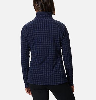Women's Glacial™ IV Print Half Zip Pullover Glacial™ IV Print 1/2 Zip | 472 | XXL, Dark Nocturnal Houndstooth, back