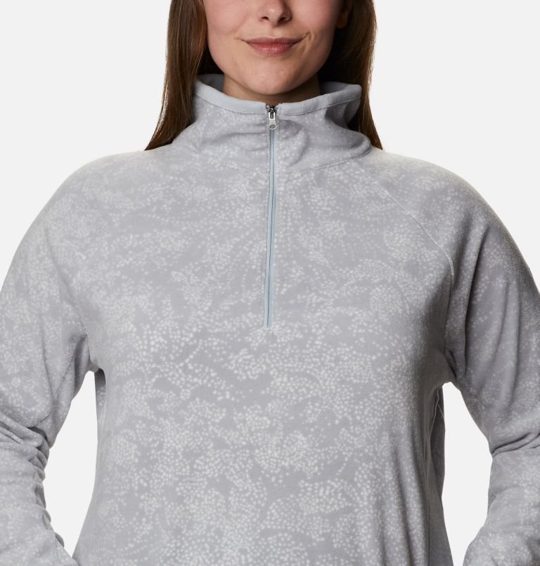 Women's Glacial™ IV Print Half Zip Pullover - Plus Size Women's Glacial™ IV Print Half Zip Pullover - Plus Size, a2