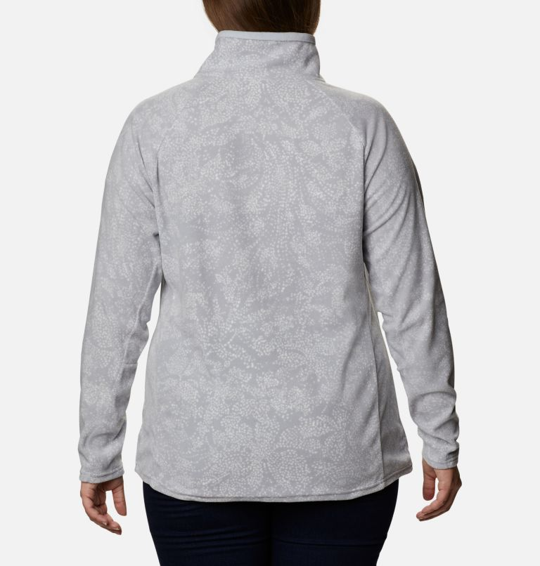 Women's Glacial™ IV Print Half Zip Pullover - Plus Size Women's Glacial™ IV Print Half Zip Pullover - Plus Size, back