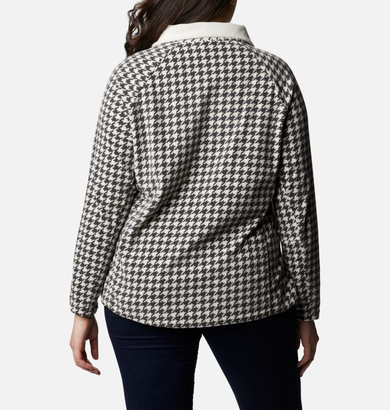 Women's Glacial™ IV Print Half Zip Pullover - Plus Size Women's Glacial™ IV Print Half Zip Pullover - Plus Size, back