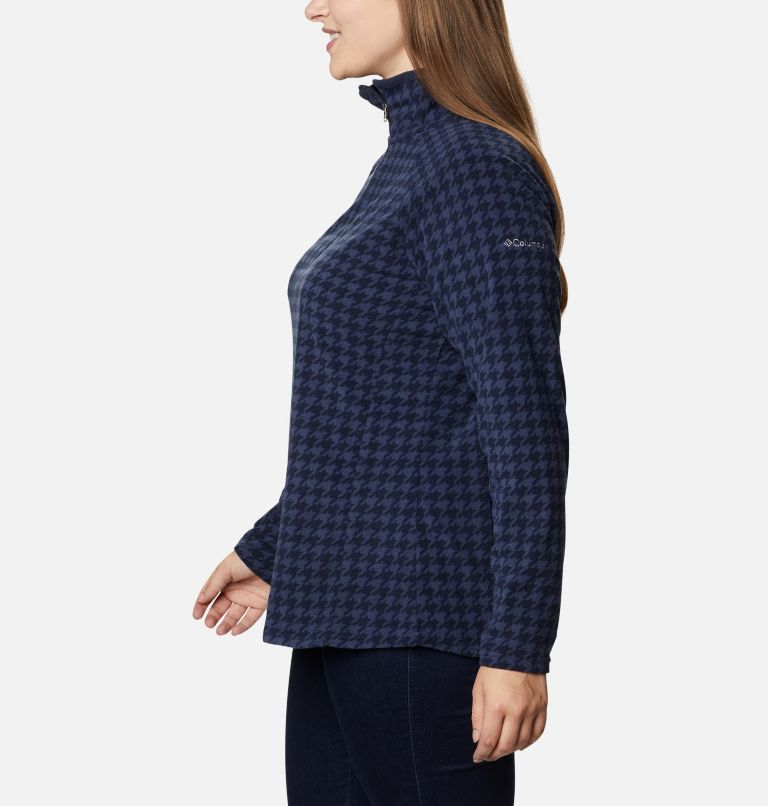 Women's Glacial™ IV Print Half Zip Pullover - Plus Size Women's Glacial™ IV Print Half Zip Pullover - Plus Size, a1
