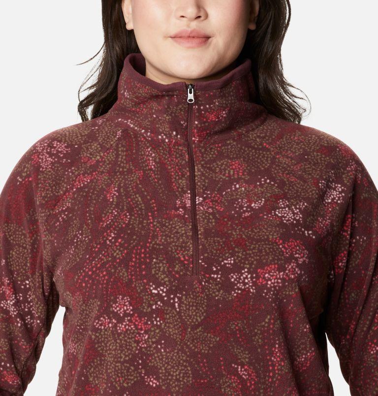 Women's Glacial™ IV Print Half Zip Pullover - Plus Size Women's Glacial™ IV Print Half Zip Pullover - Plus Size, a2