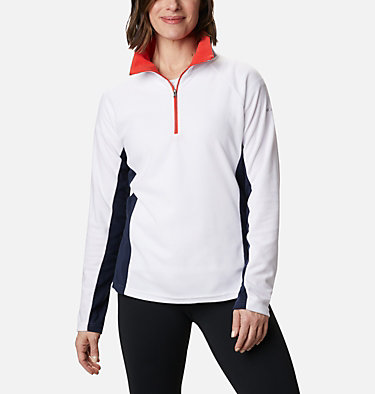 Women's Glacial™ IV 1/2 Zip Glacial™ IV 1/2 Zip | 100 | XS, White, Dark Nocturnal, front
