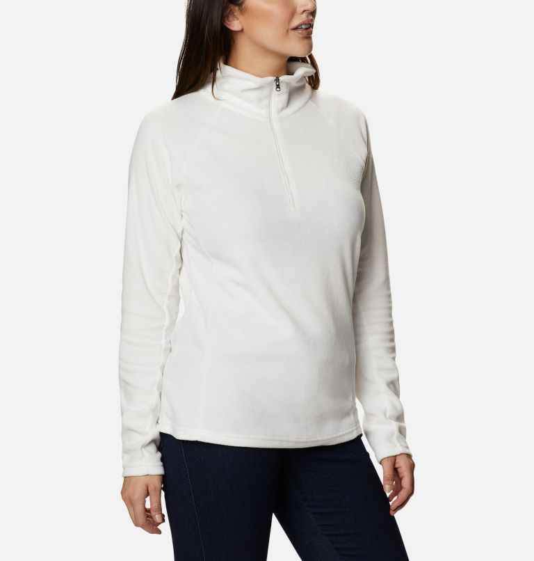 Glacial™ IV 1/2 Zip | 125 | S Women's Glacial™ IV Half Zip Fleece, Sea Salt, a3