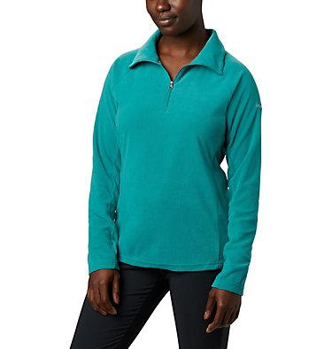 Women's Glacial™ IV Half Zip Fleece Glacial™ IV 1/2 Zip | 100 | XS, Waterfall, front
