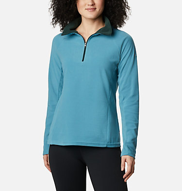 Women's Glacial™ IV 1/2 Zip Glacial™ IV 1/2 Zip | 100 | XS, Canyon Blue, Spruce, front