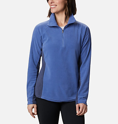 Women's Glacial™ IV Half Zip Fleece Glacial™ IV 1/2 Zip | 100 | XS, Velvet Cove, Nocturnal, front