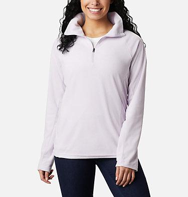Women's Glacial™ IV Half Zip Fleece Glacial™ IV 1/2 Zip | 100 | XS, Pale Lilac, front
