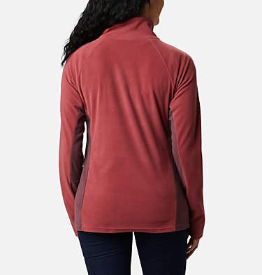 Women's Glacial™ IV Half Zip Fleece Glacial™ IV 1/2 Zip | 100 | XS, Marsala Red, Malbec, back