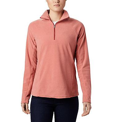Women's Glacial™ IV Half Zip Fleece Glacial™ IV 1/2 Zip   100   XS, Dark Coral, front