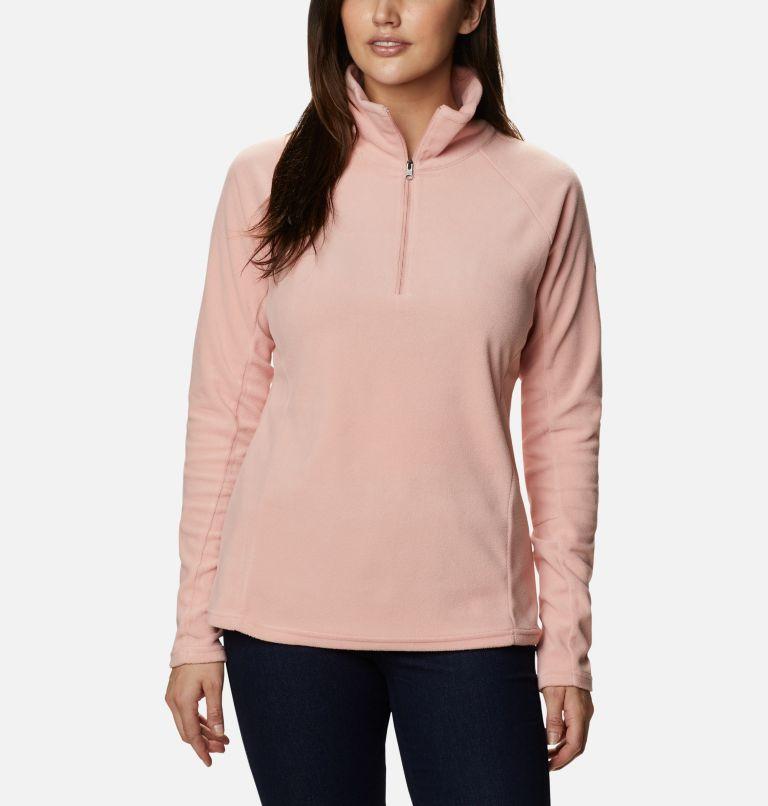 Glacial™ IV 1/2 Zip | 672 | S Women's Glacial™ IV Half Zip Fleece, Faux Pink, front