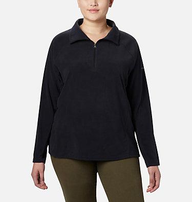 Women's Glacial™ IV 1/2 Zip - Plus Size Glacial™ IV 1/2 Zip | 430 | 1X, Black, front