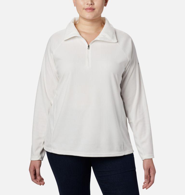 Glacial™ IV 1/2 Zip | 125 | 1X Women's Glacial™ IV 1/2 Zip - Plus Size, Sea Salt, front