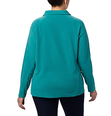 Women's Glacial™ IV 1/2 Zip - Plus Size Glacial™ IV 1/2 Zip | 430 | 1X, Waterfall, back