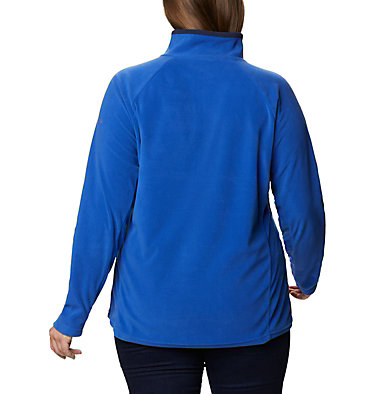 Women's Glacial™ IV 1/2 Zip - Plus Size Glacial™ IV 1/2 Zip | 430 | 1X, Lapis Blue, Dark Nocturnal, back