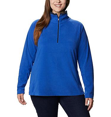 Women's Glacial™ IV 1/2 Zip - Plus Size Glacial™ IV 1/2 Zip | 430 | 1X, Lapis Blue, Dark Nocturnal, front