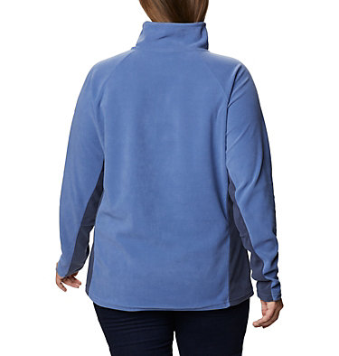 Women's Glacial™ IV 1/2 Zip - Plus Size Glacial™ IV 1/2 Zip | 430 | 1X, Velvet Cove, Nocturnal, back