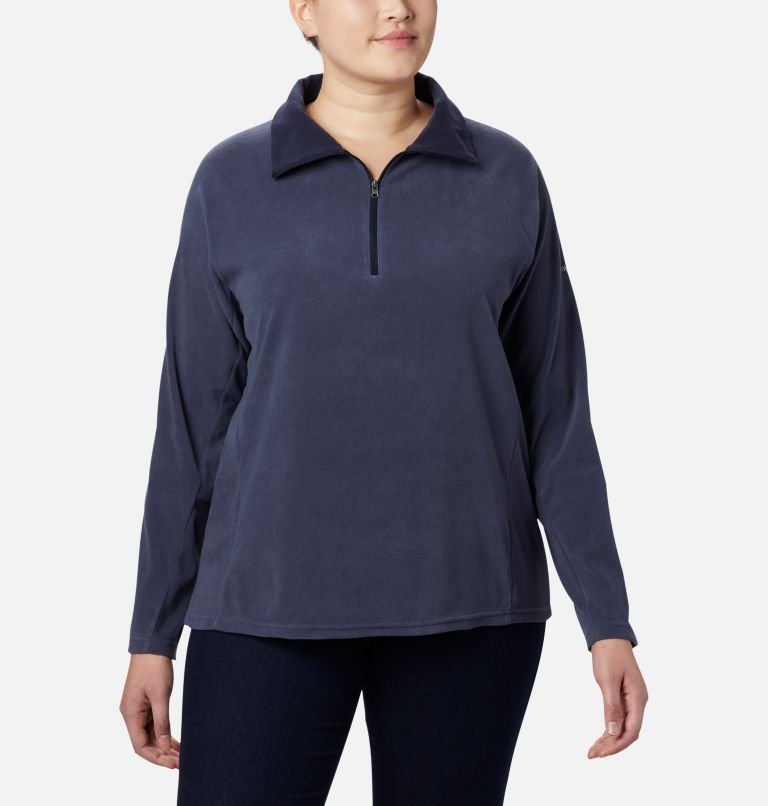 Glacial™ IV 1/2 Zip | 466 | 1X Women's Glacial™ IV 1/2 Zip - Plus Size, Nocturnal, front