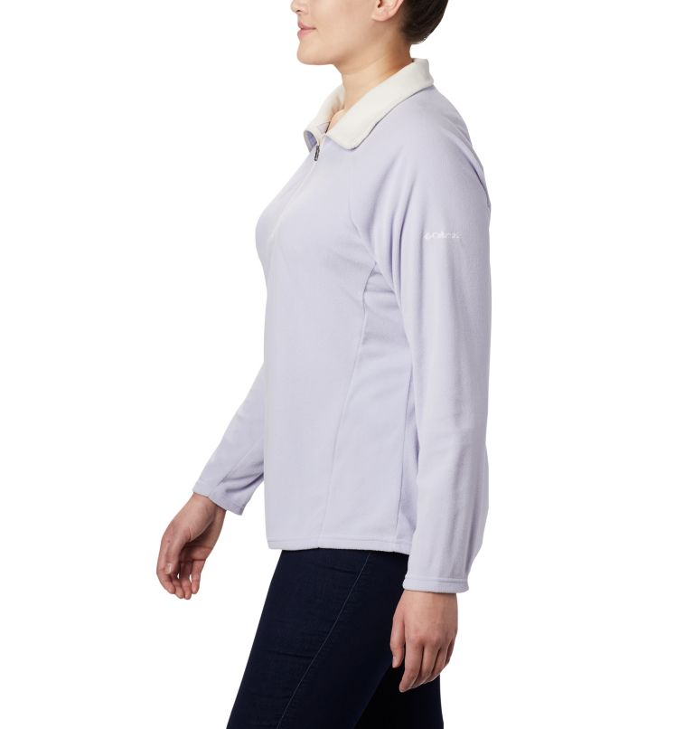 Glacial™ IV 1/2 Zip | 580 | 1X Women's Glacial™ IV 1/2 Zip - Plus Size, Twilight, a1