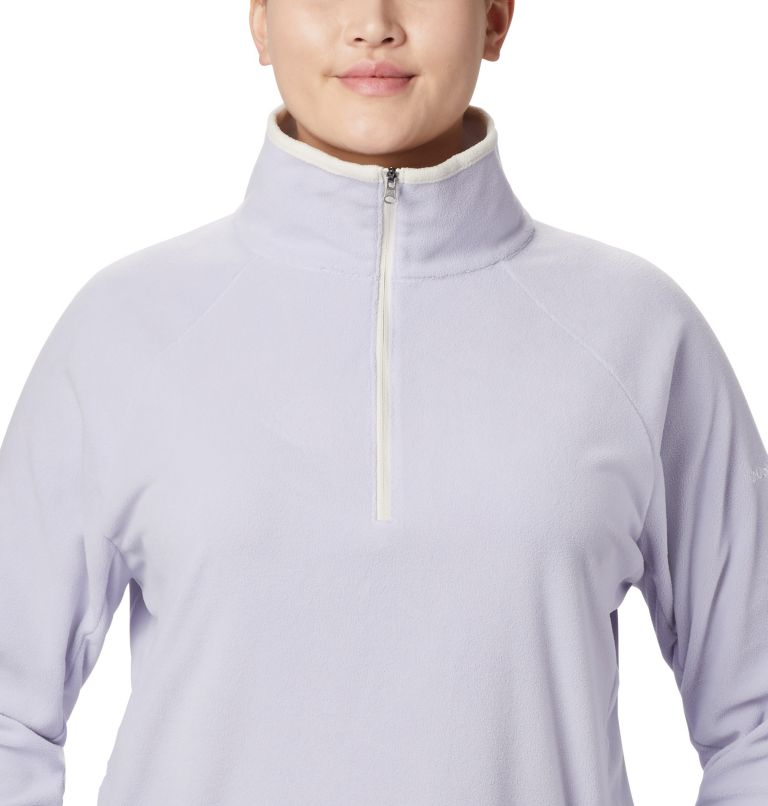 Glacial™ IV 1/2 Zip | 580 | 1X Women's Glacial™ IV 1/2 Zip - Plus Size, Twilight, a2