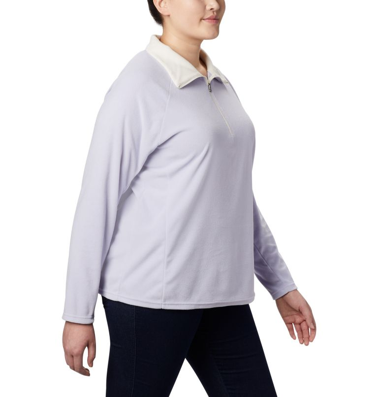 Glacial™ IV 1/2 Zip | 580 | 1X Women's Glacial™ IV 1/2 Zip - Plus Size, Twilight, a3