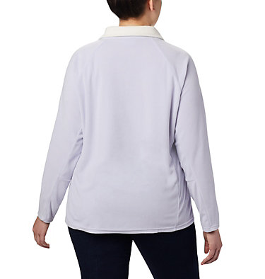 Women's Glacial™ IV 1/2 Zip - Plus Size Glacial™ IV 1/2 Zip | 430 | 1X, Twilight, back