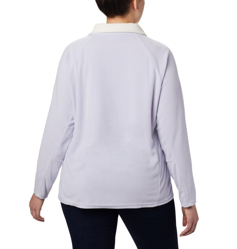 Glacial™ IV 1/2 Zip | 580 | 1X Women's Glacial™ IV 1/2 Zip - Plus Size, Twilight, back