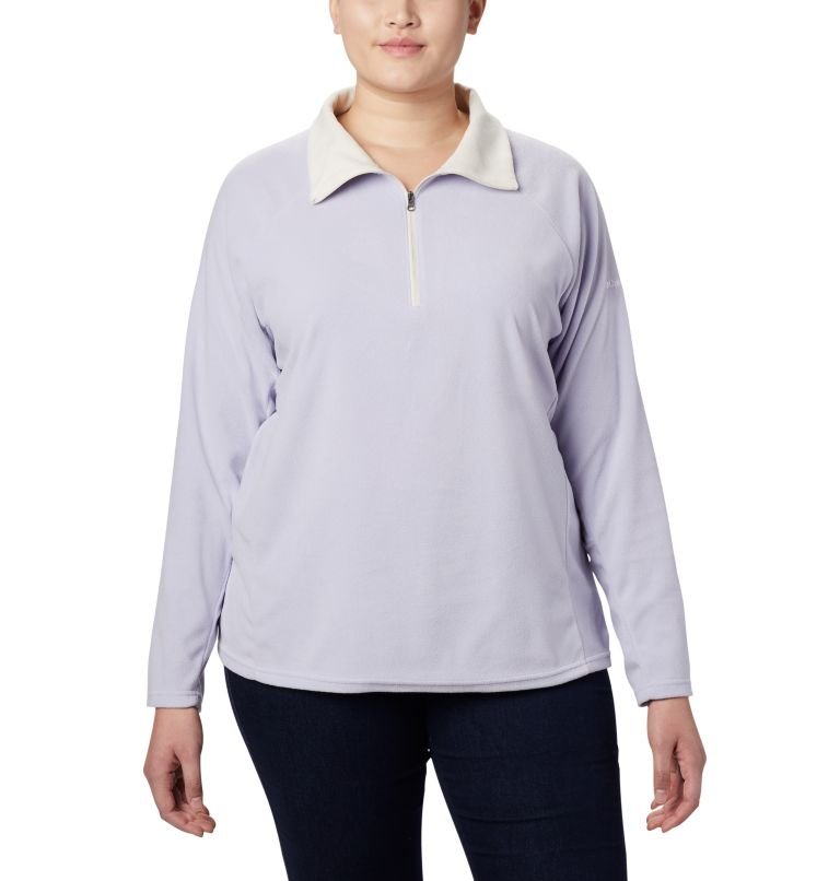 Glacial™ IV 1/2 Zip | 580 | 1X Women's Glacial™ IV 1/2 Zip - Plus Size, Twilight, front