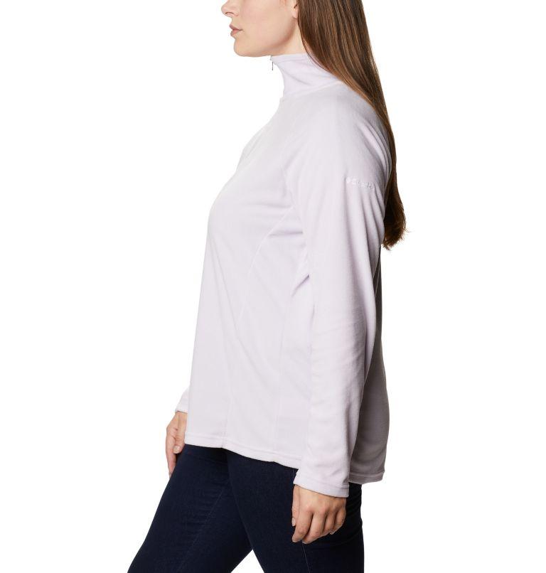 Glacial™ IV 1/2 Zip | 584 | 1X Women's Glacial™ IV 1/2 Zip - Plus Size, Pale Lilac, a1