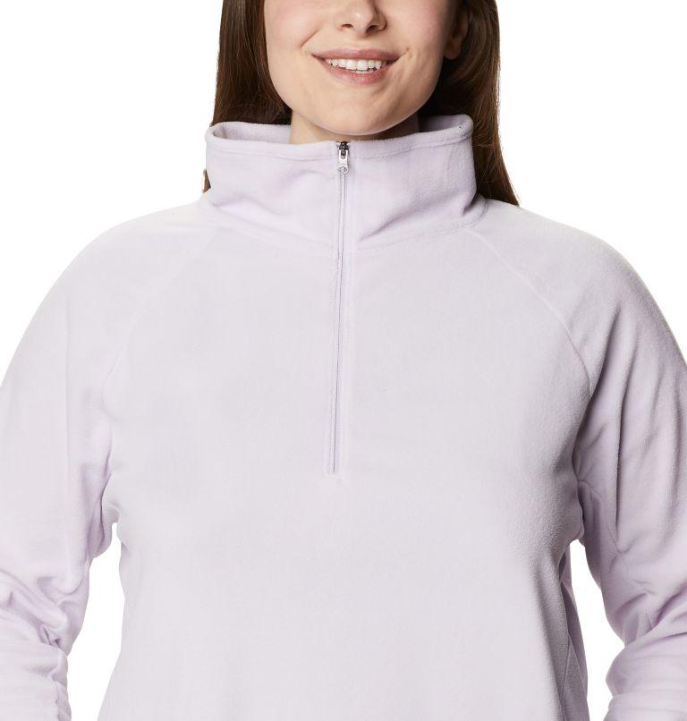 Glacial™ IV 1/2 Zip | 584 | 1X Women's Glacial™ IV 1/2 Zip - Plus Size, Pale Lilac, a2